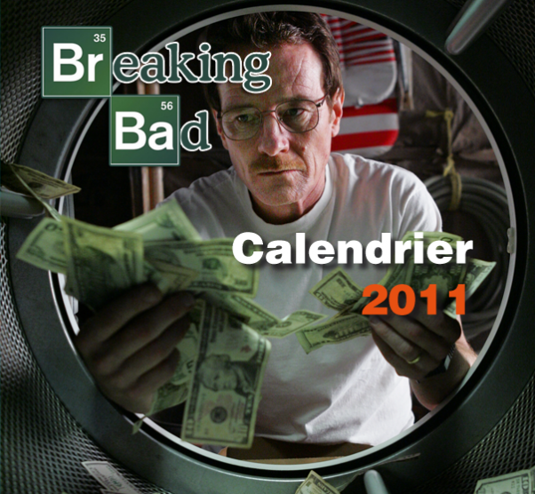 Calendrier Breaking Bad 2011