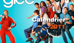 Calendrier Glee 2011