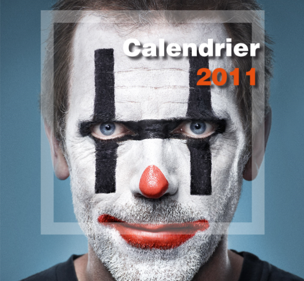 Calendrier Dr House 2011