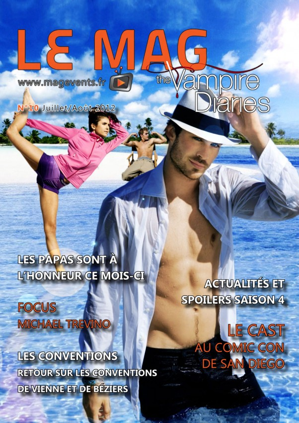 Couverture TVD Le Mag - N10