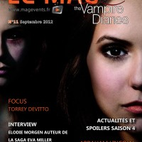 Couverture - TVD - LeMag - N11 - Septembre 2012