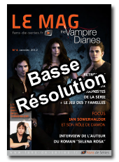 Le Mag - Vampire Diaries - N4 - Janvier 2012 - BR
