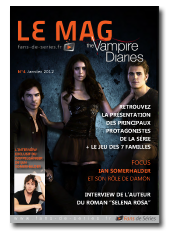 Le Mag - Vampire Diaries - N4 - Janvier 20121 - HR